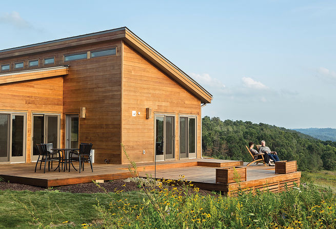 grandson of frank lloyd wright constructs peaceful prefab